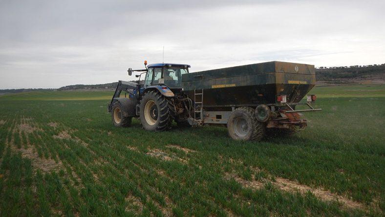 El cereal necesita agua en Castilla y León, más en el norte