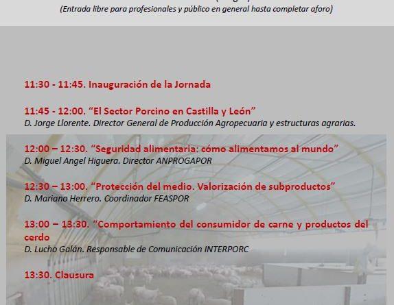 """Jornada día 8 de junio: """"El sector porcino, el ejemplo de un líder"""""""