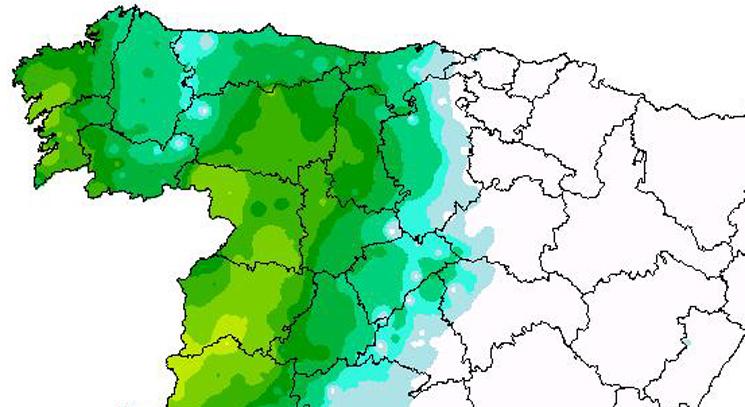 Las lluvias dejaron anoche máximos de hasta 40 litros que reactivan las siembras y otras labores