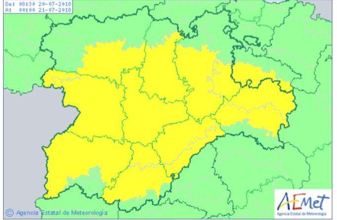 De nuevo hay que coger el paraguas y bajarse de la cosechadora en Castilla y León
