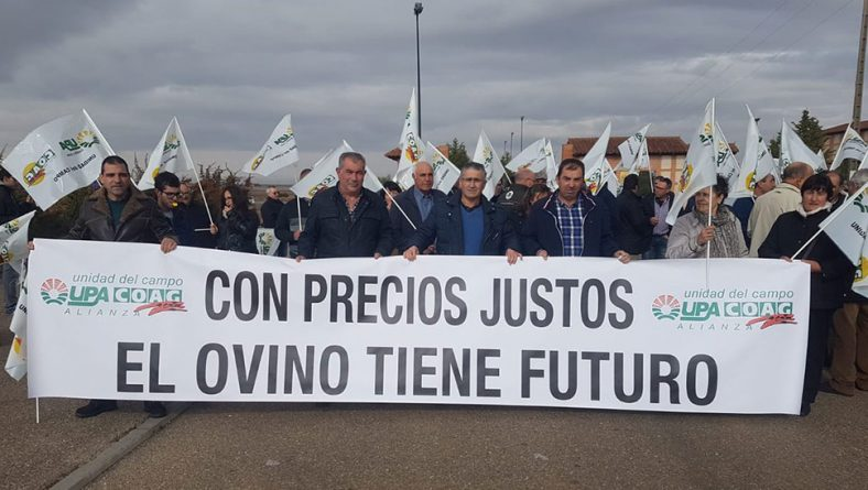 En defensa de precios justos y contratos estables para los productores de leche de ovino