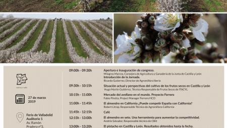 JORNADA: El cultivo de frutos secos en Castilla y León