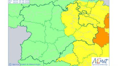 Este viernes, los termómetros en Burgos y Soria pueden llegar a los 36 grados