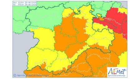 Los termómetros llegarán este fin de semana a los 40 grados en Valladolid