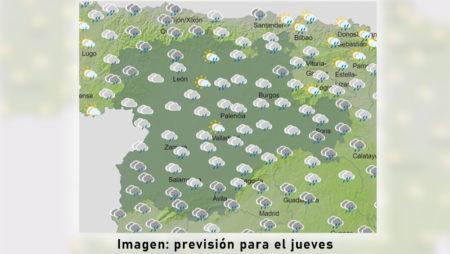 El tiempo será estable en Castilla y León hasta la llegada el miércoles de un frente atlántico